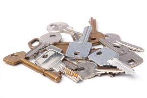 Verschiedene Schlüssel